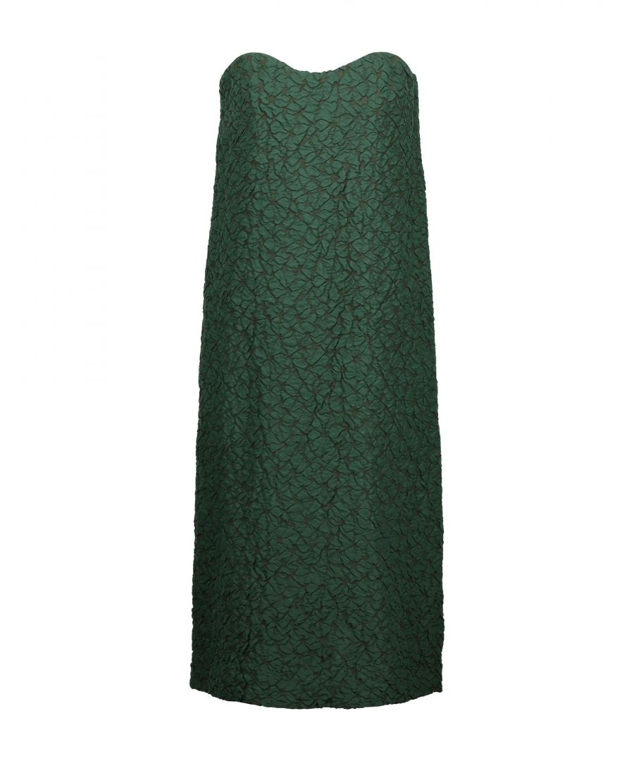 Image for Nina Ricci Green Silk Midi Dress