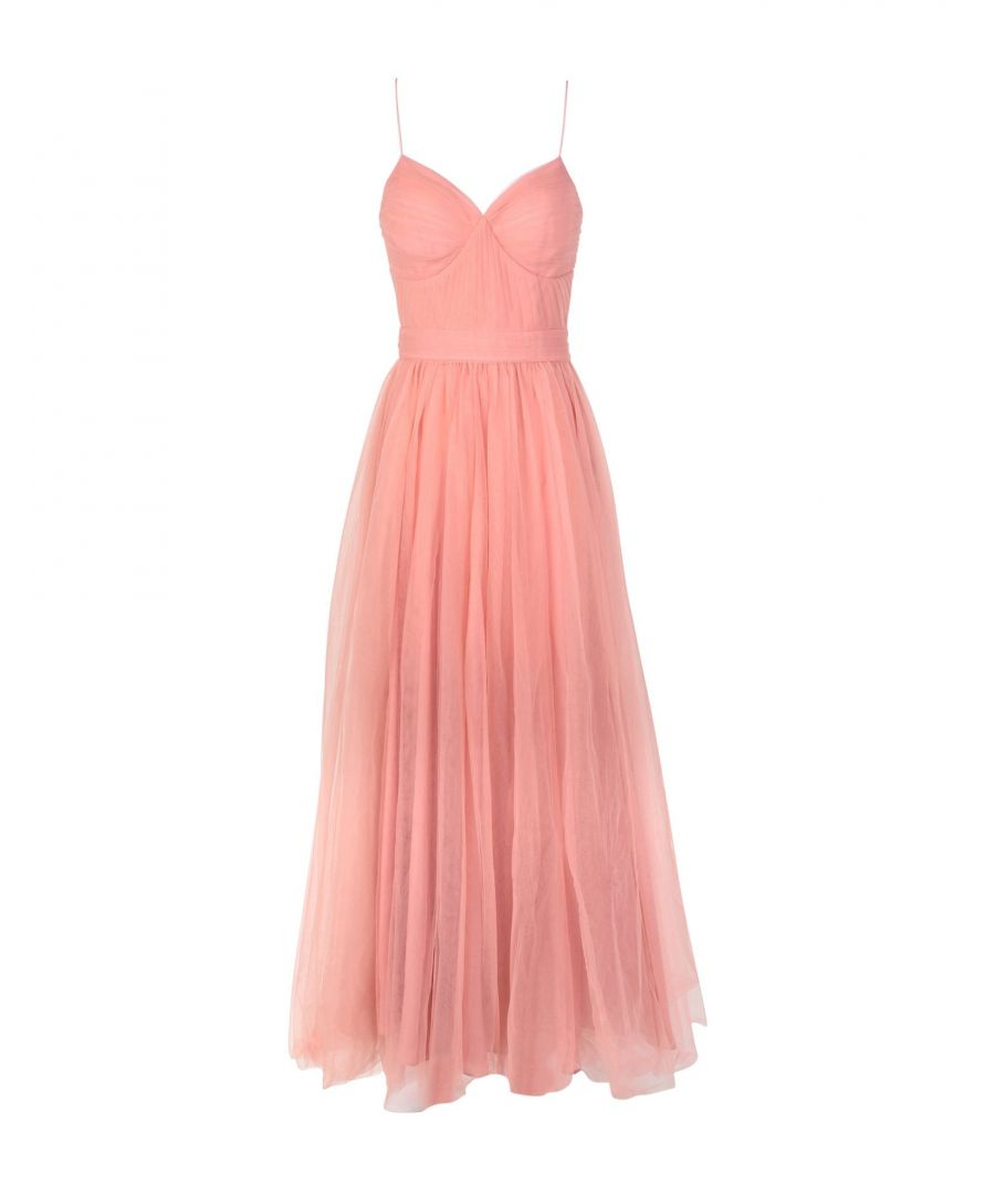 Image for True Decadence Pastel Pink Full Length Dress