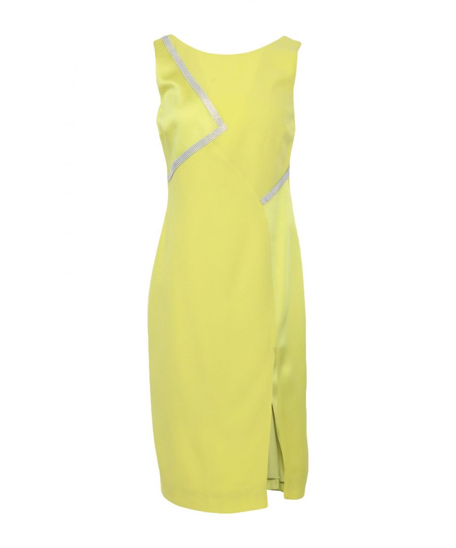 Image for Versace Yellow Knee-length Dress