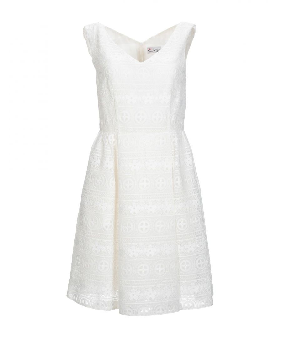 Image for Redvalentino Ivory Lace Dress