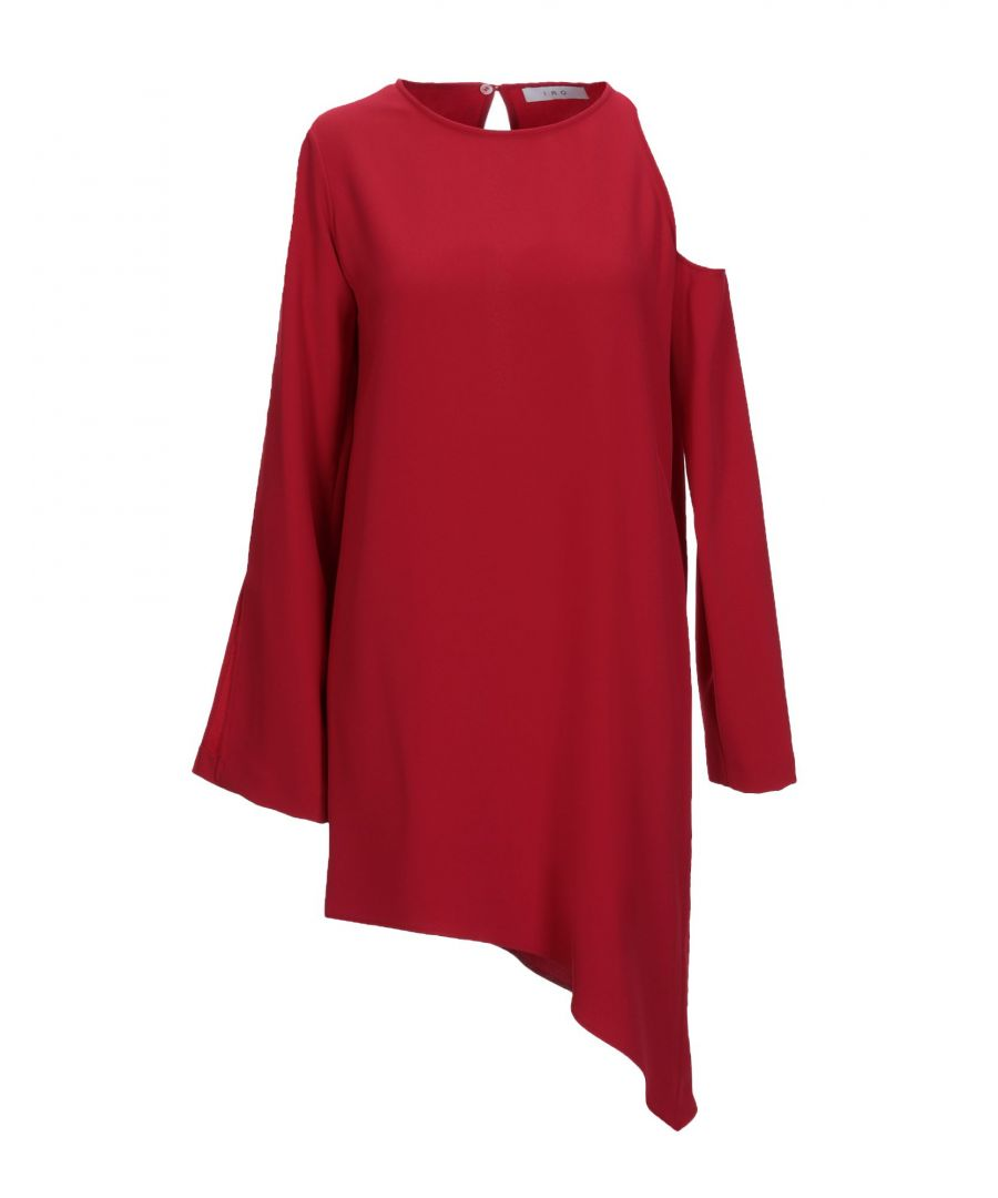 Image for DRESSES Iro Red Woman Polyester