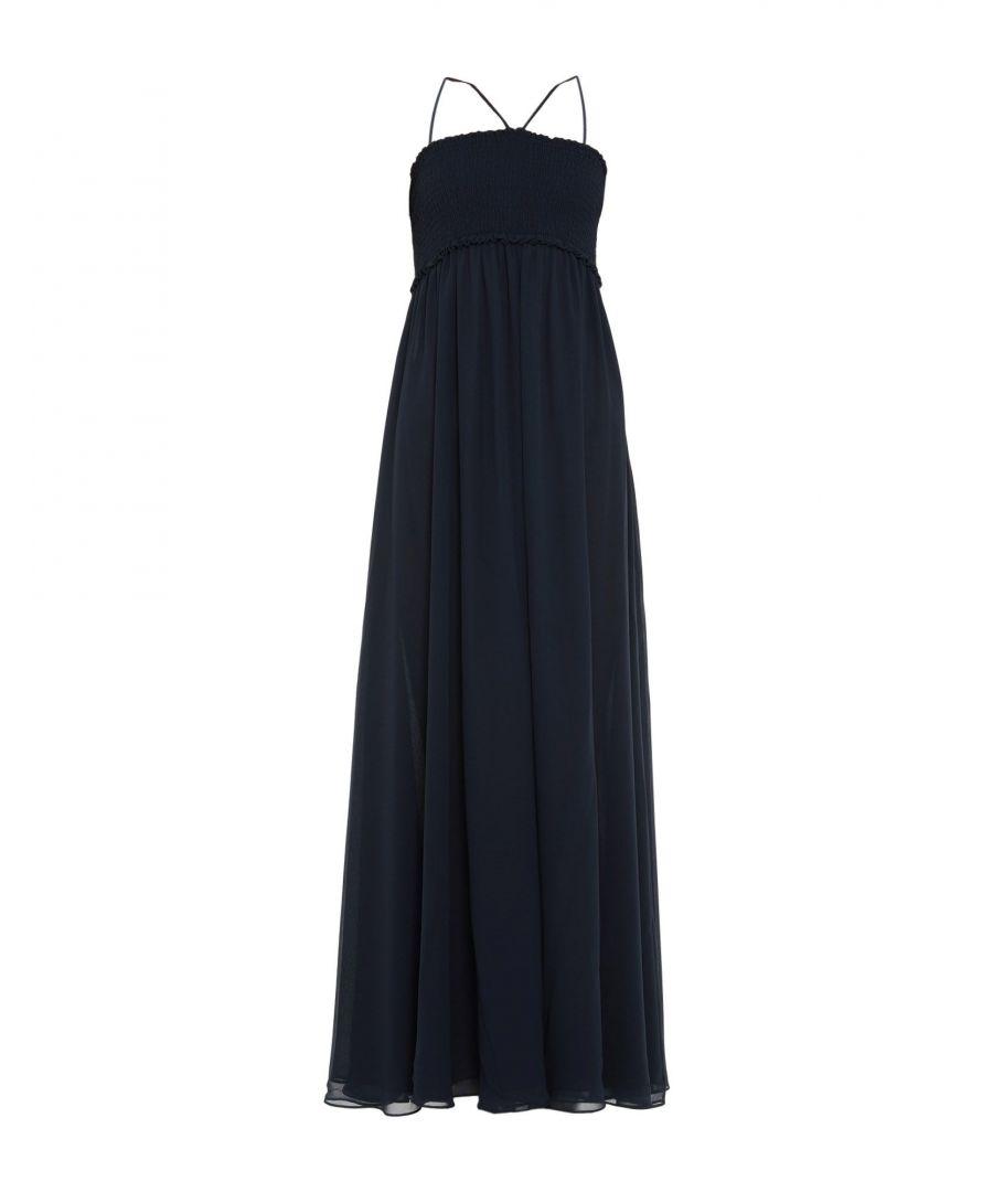 Image for Armani Collezioni Dark Blue Full Length Dress
