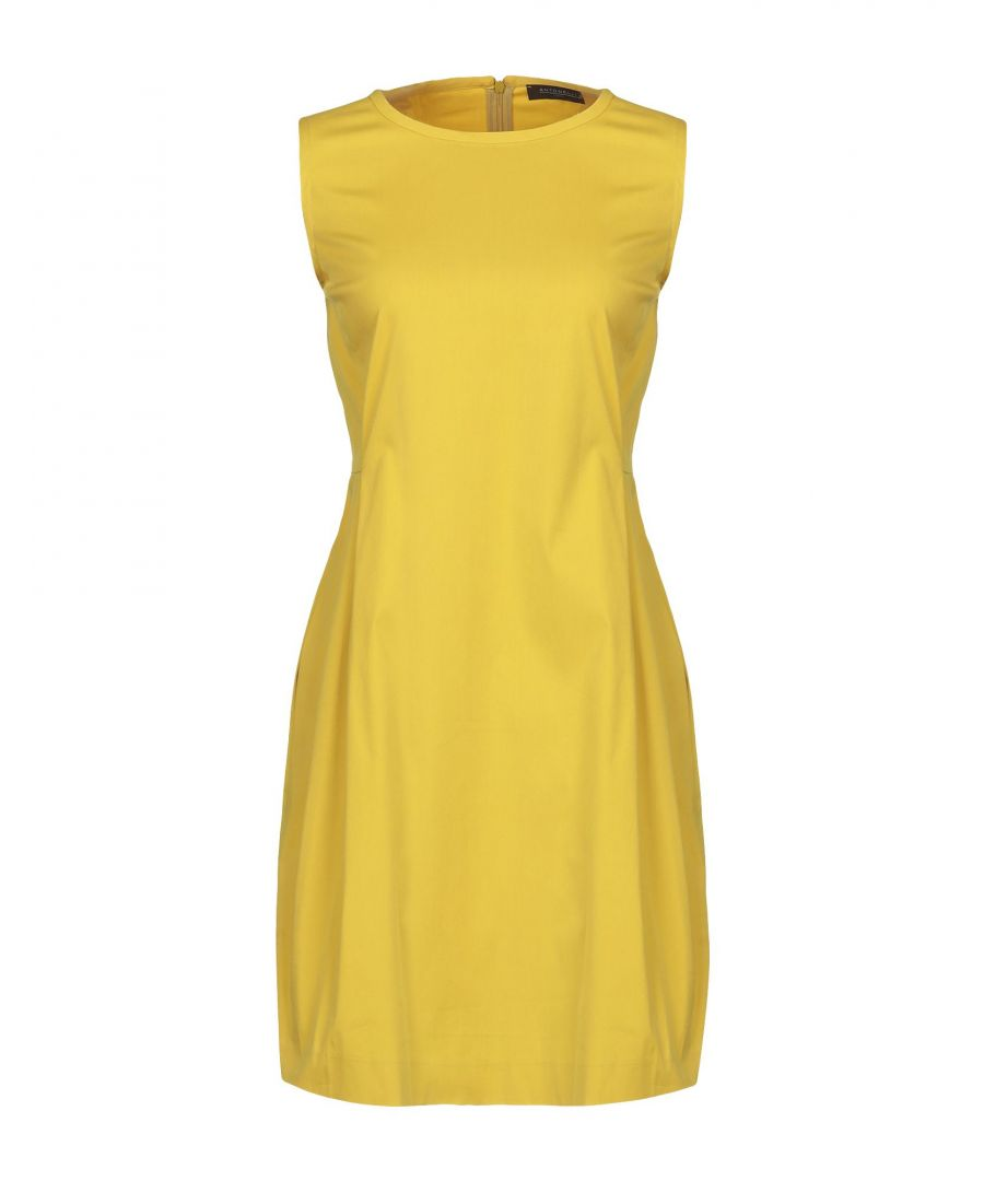 Image for Antonelli Yellow Cotton Dress