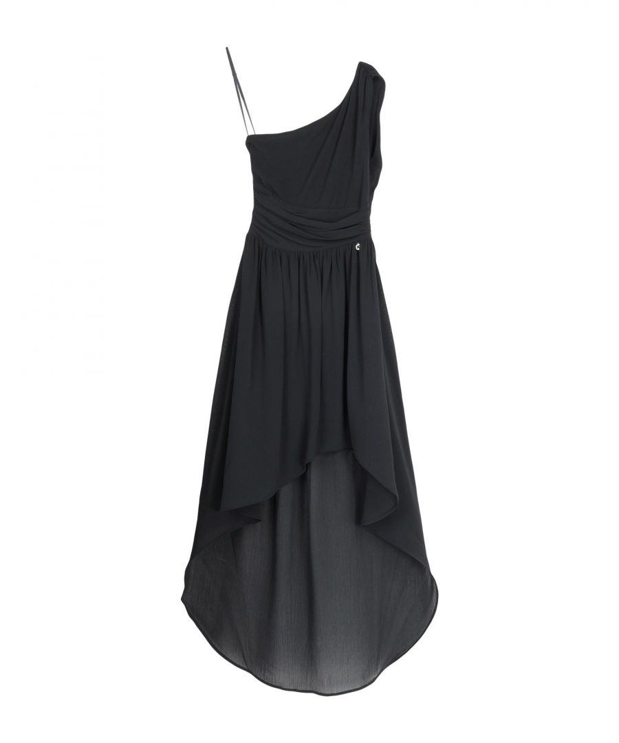 Image for Koralline Black One Shoulder Dress