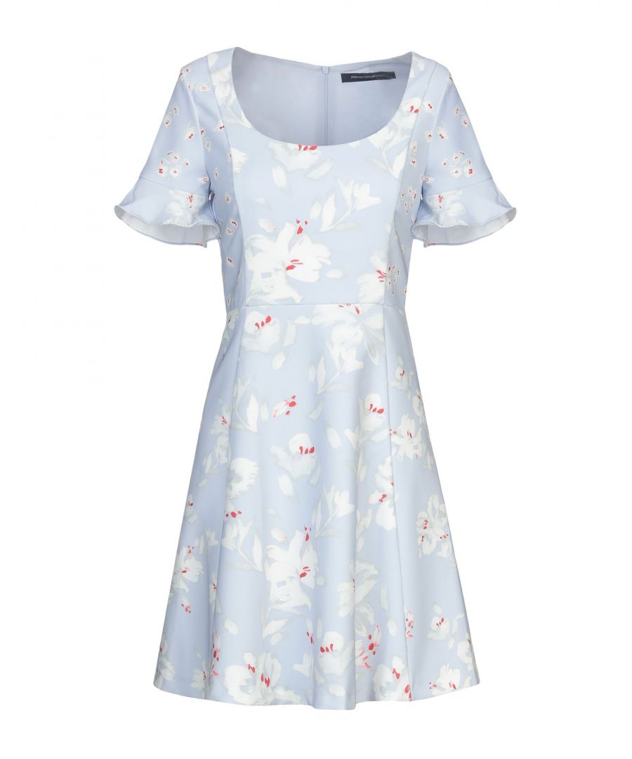 Image for French Connection Sky Blue Print Dress