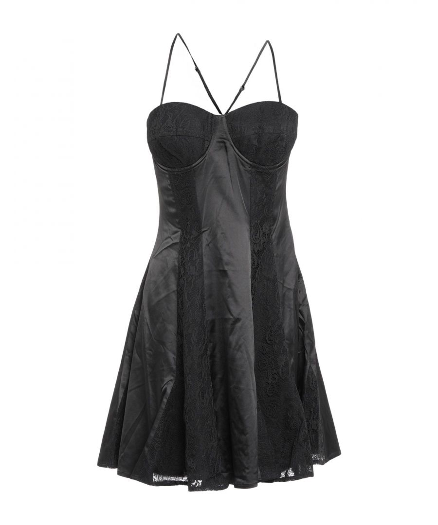Image for Guess Black Lace Dress