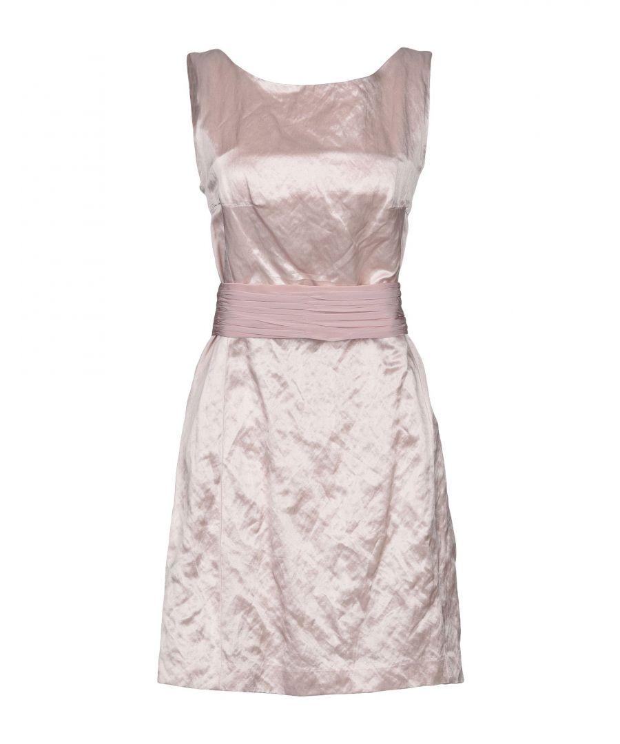 Image for Dondup Light Pink Cotton Dress