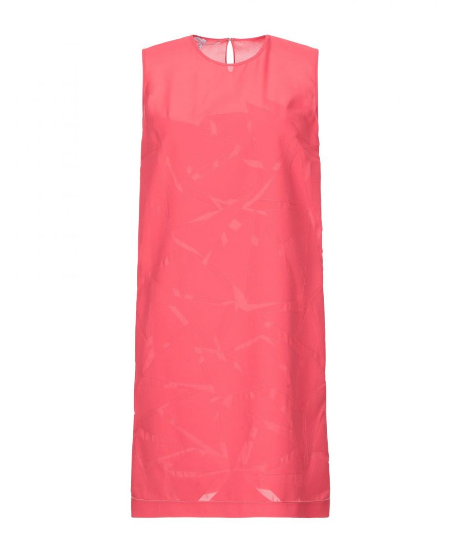 Image for Victoria, Victoria Beckham Red Crepe Sleeveless Dress