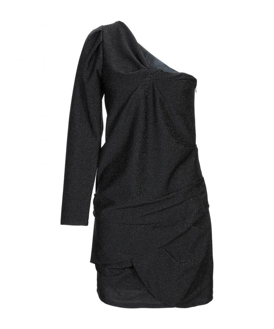 Image for Souvenir Black One Shoulder Dress