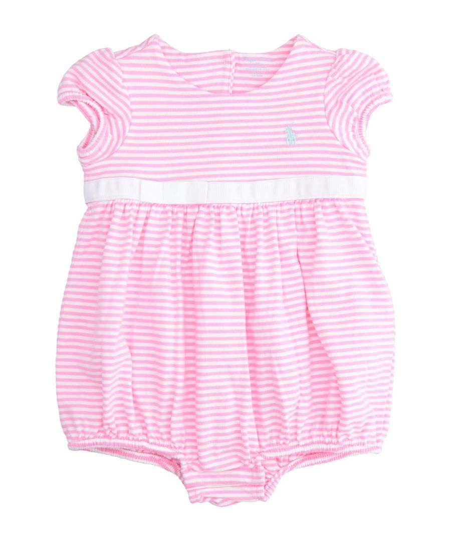 Image for BODYSUITS & SETS Girl Ralph Lauren Pink Cotton