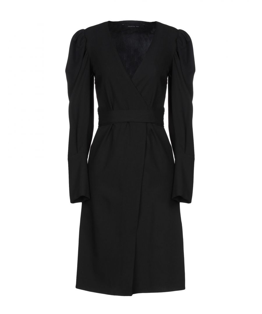 Image for Federica Tosi Black Long Sleeve Dress