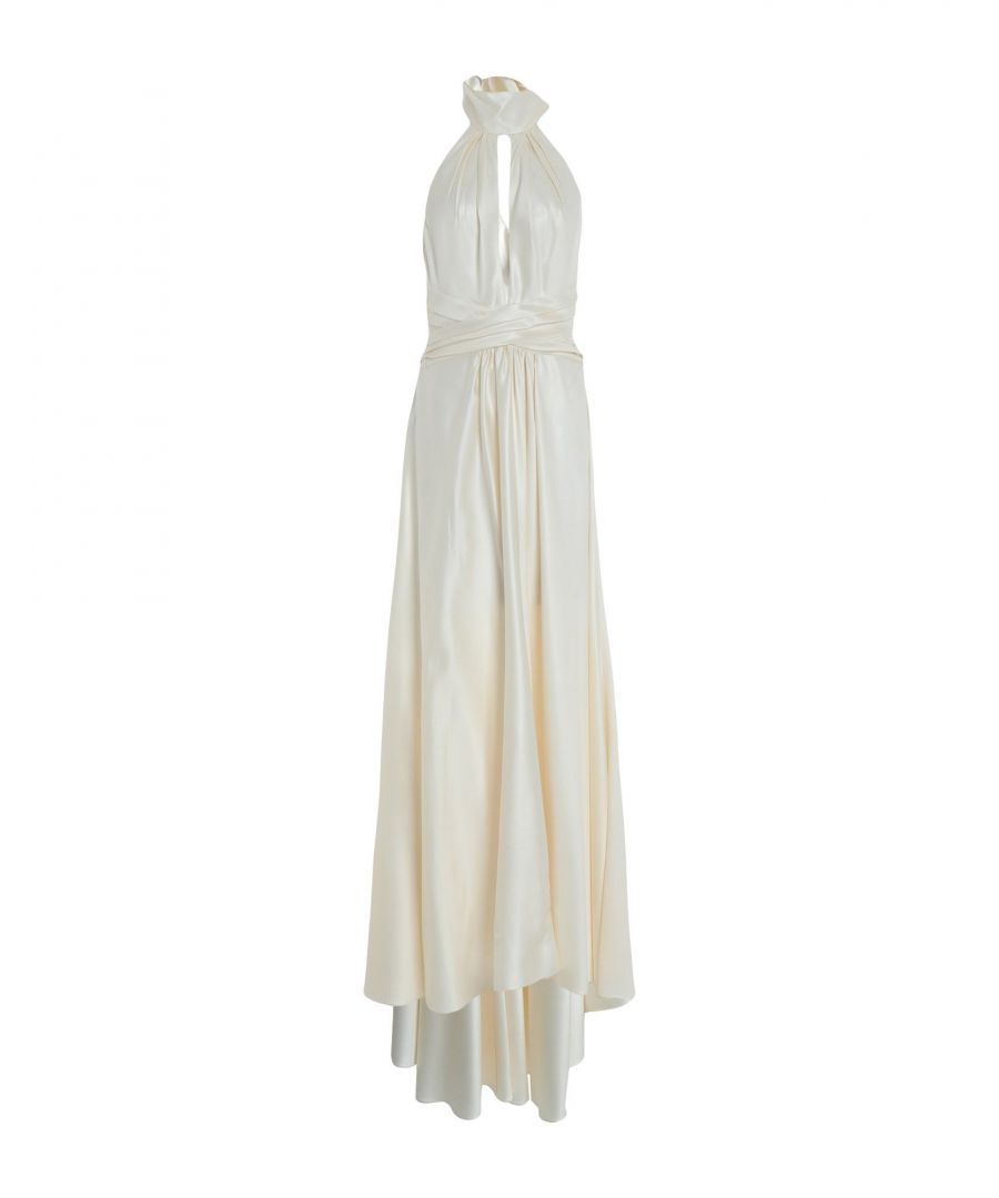 Image for Philosophy Di Lorenzo Serafini Ivory Satin Full Length Dress