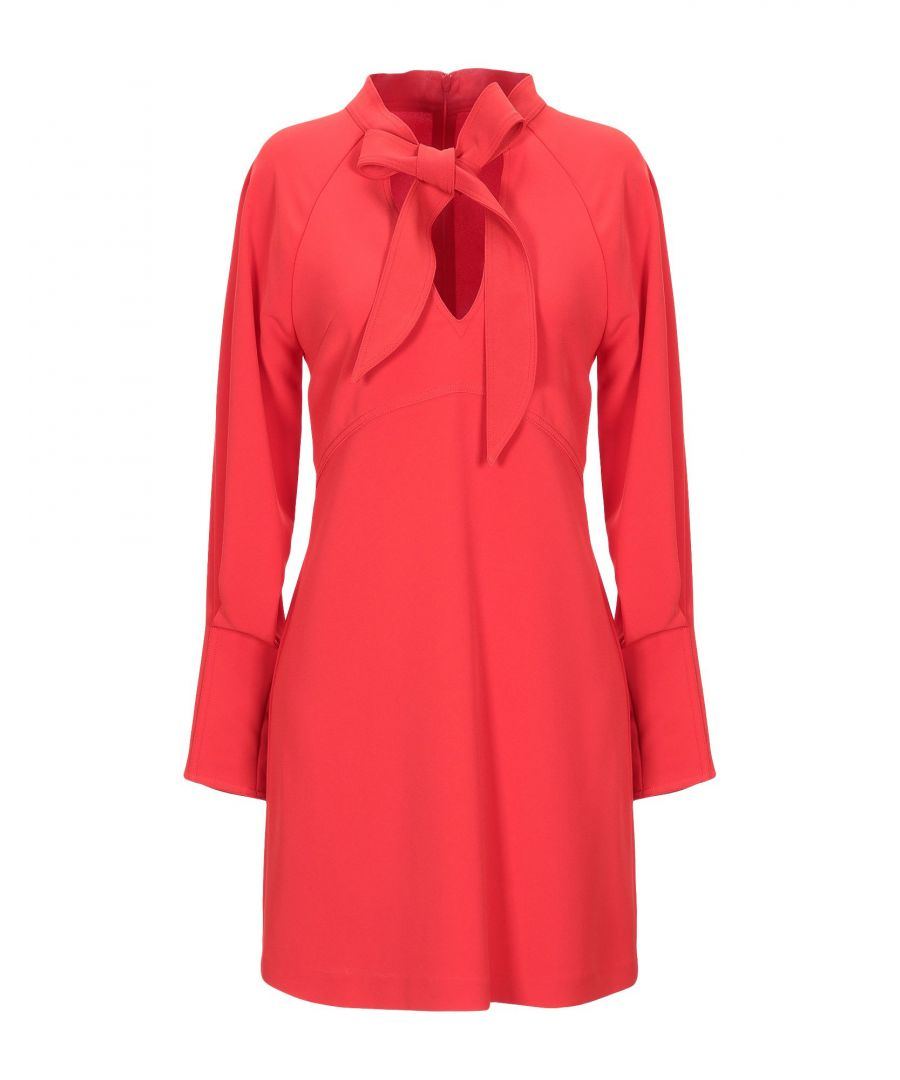 Image for Annarita N Twenty 4H Red Long Sleeve Dress