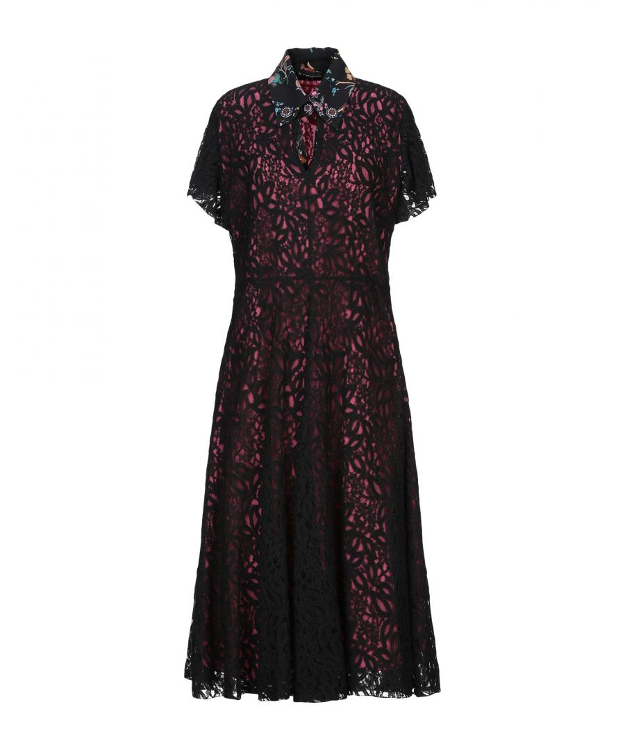 Image for Etro Black Lace Dress