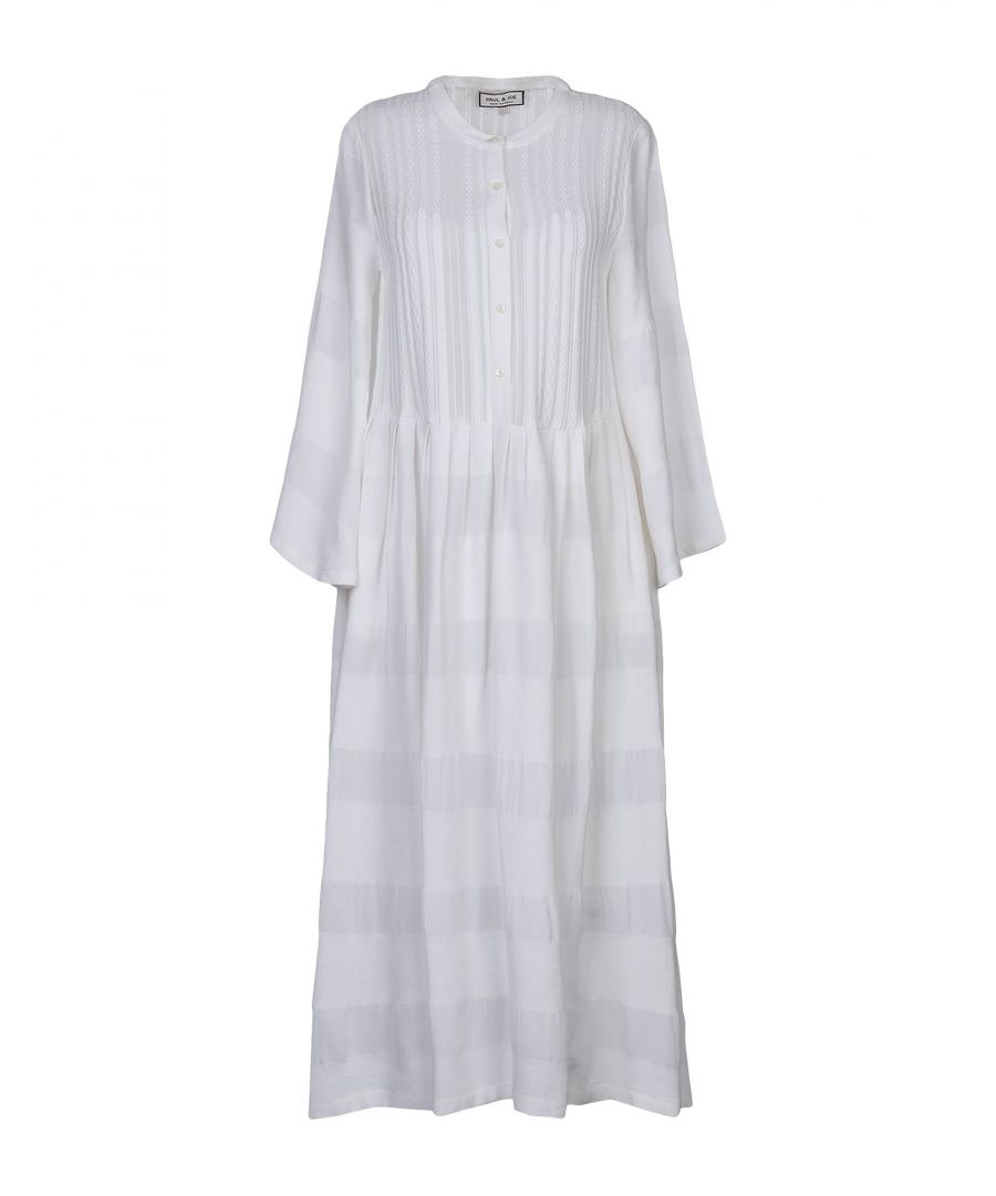 Image for Paul & Joe White Cotton Shirt Dress