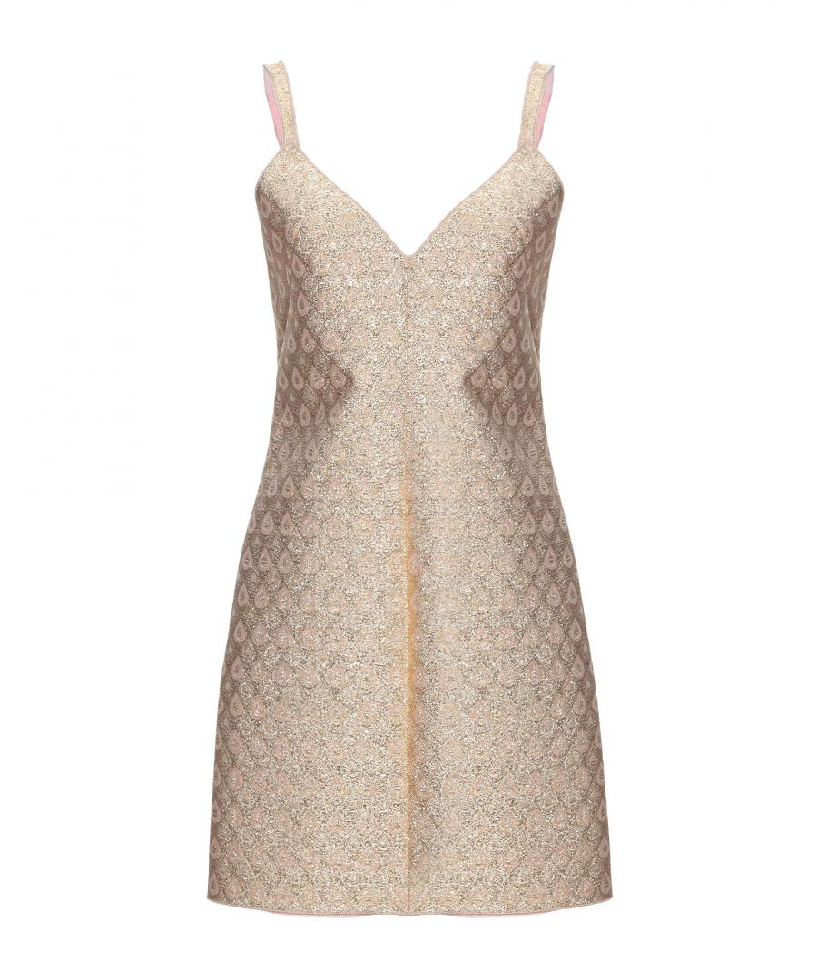 Image for No21 Gold Cotton Slip Dress
