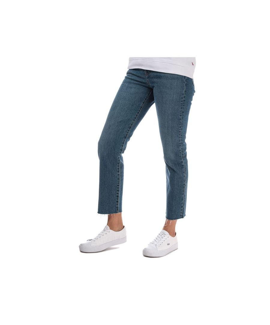 Image for Women's Levis Wedgie Straight Love Triangle Jeans in Denim