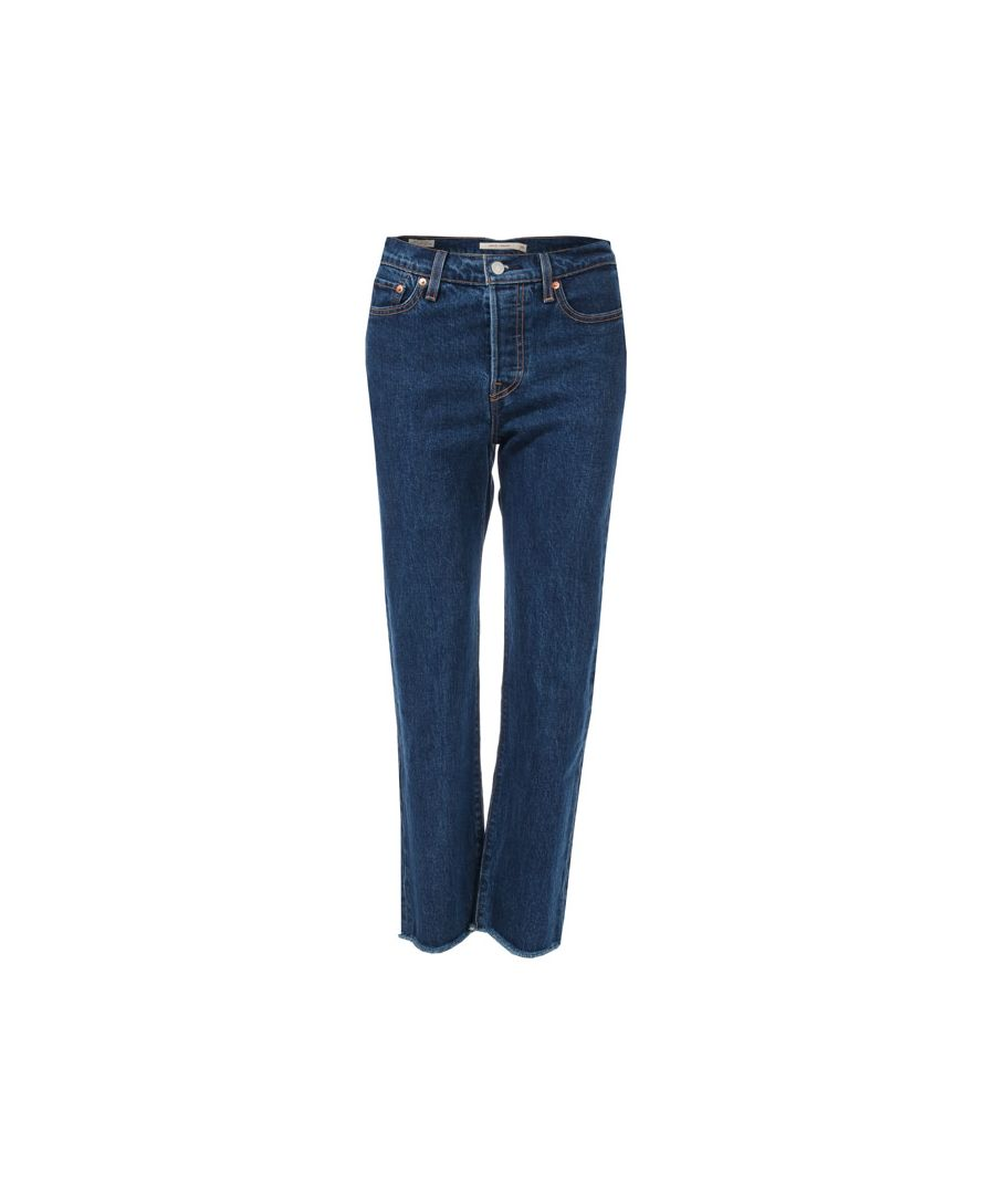 Image for Women's Levis Wedgie Straight Below The Belt Jeans in Denim