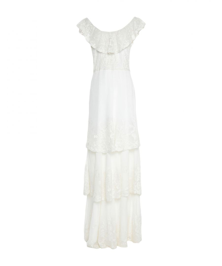 Image for Joie White Cotton Full Length Dress