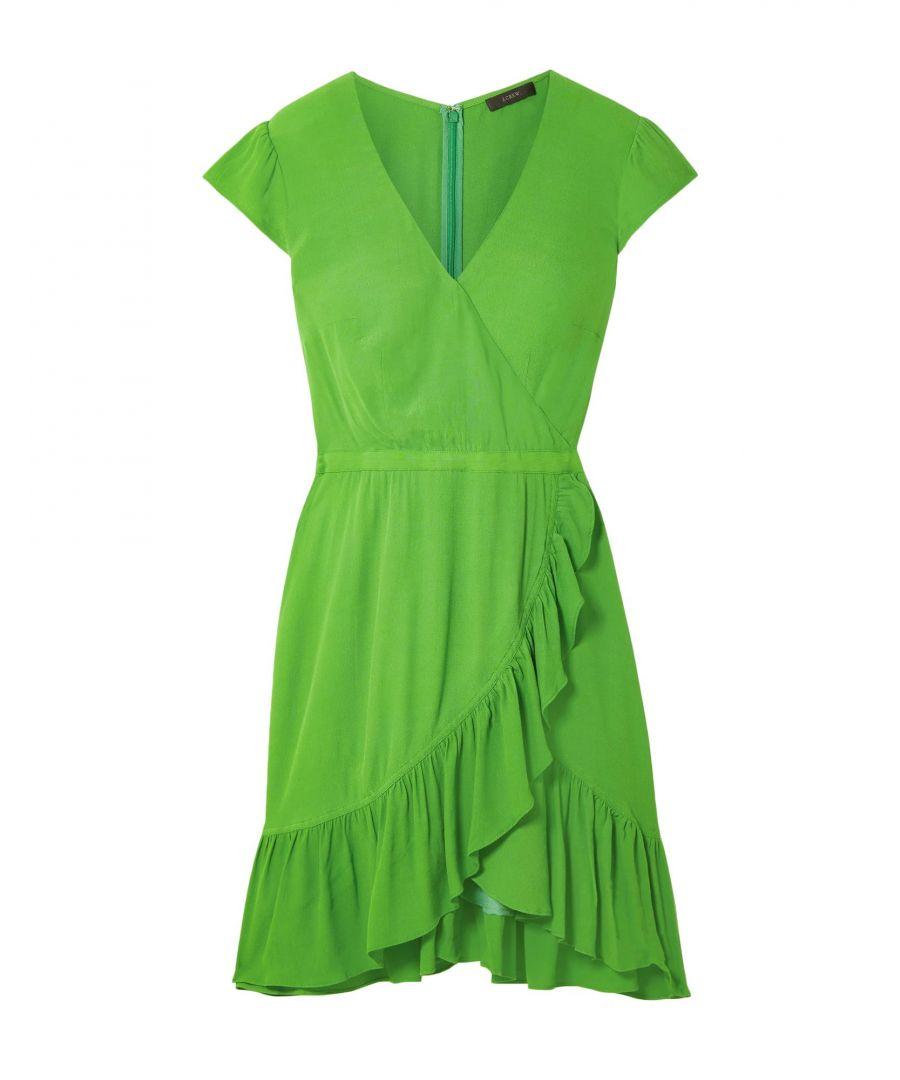 Image for J.Crew Green Short Sleeve Dress