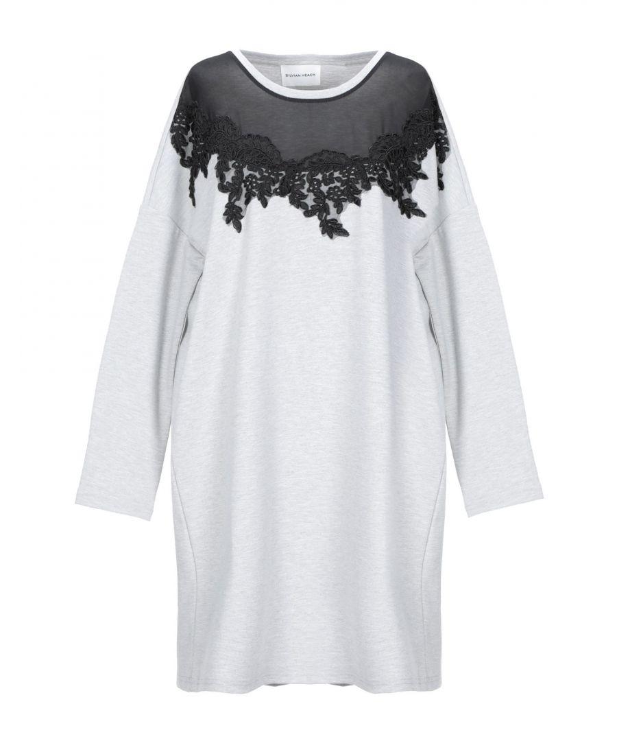 Image for Silvian Heach Grey Long Sleeve Dress