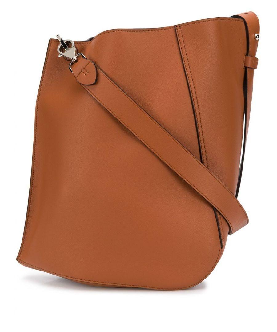 Image for LANVIN WOMEN'S LWBGTQ00SILKP20BR BROWN LEATHER SHOULDER BAG