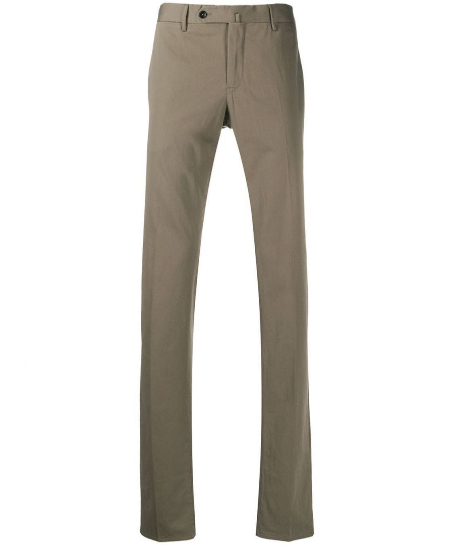Image for PT01 MEN'S CODL01Z00CL3BB140120 GREY COTTON PANTS