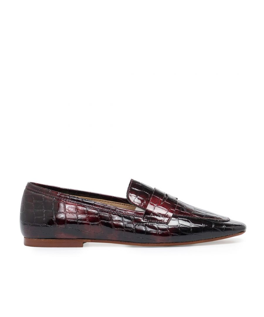 Image for Eva Lopez Leather Loafers Women Engraved