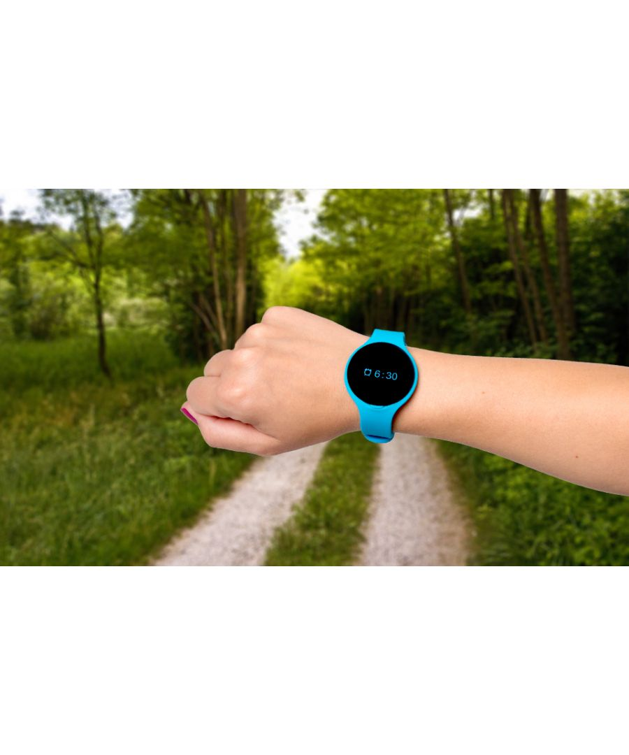Image for Bas-Tek Sport Lightweight Bluetooth Fitness Tracker - Blue