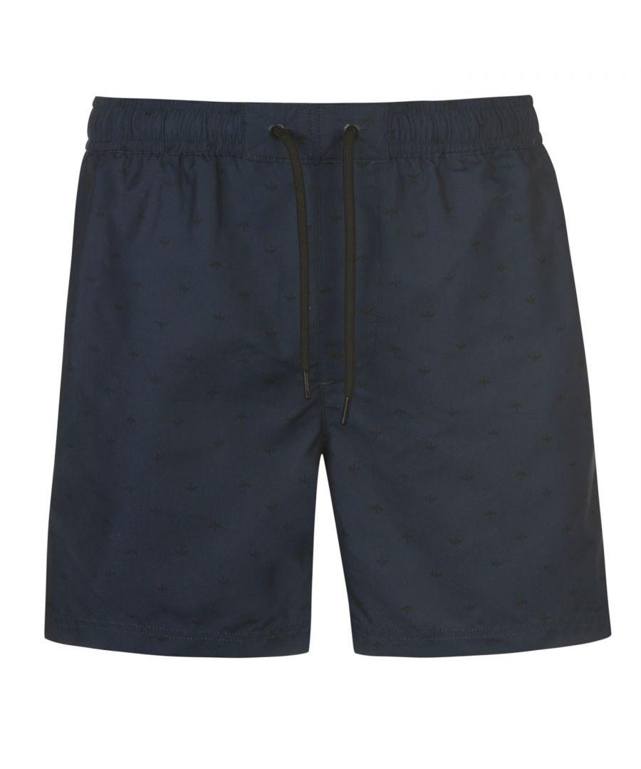 Image for Firetrap Mens Nelson Shorts Lightweight Elasticated Waistband Bottoms