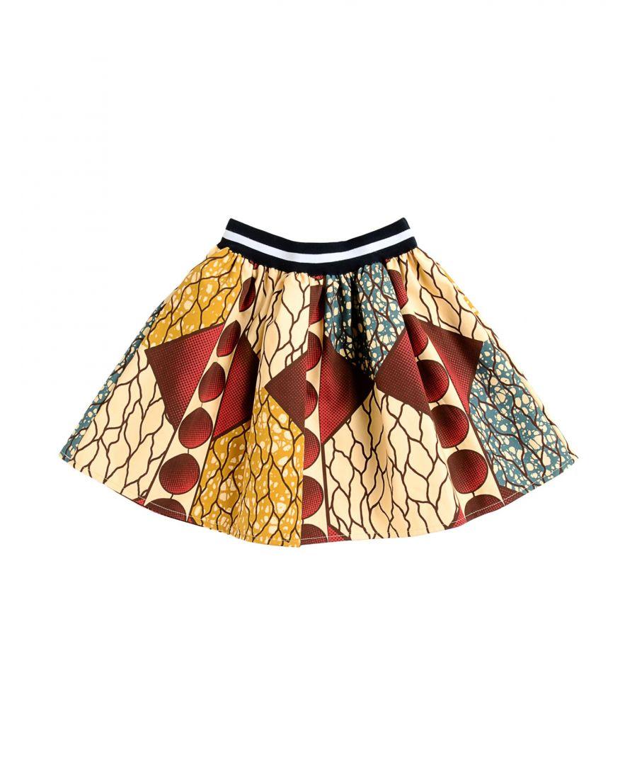 Image for Stella Jean Girls' Beige Cotton Skirt