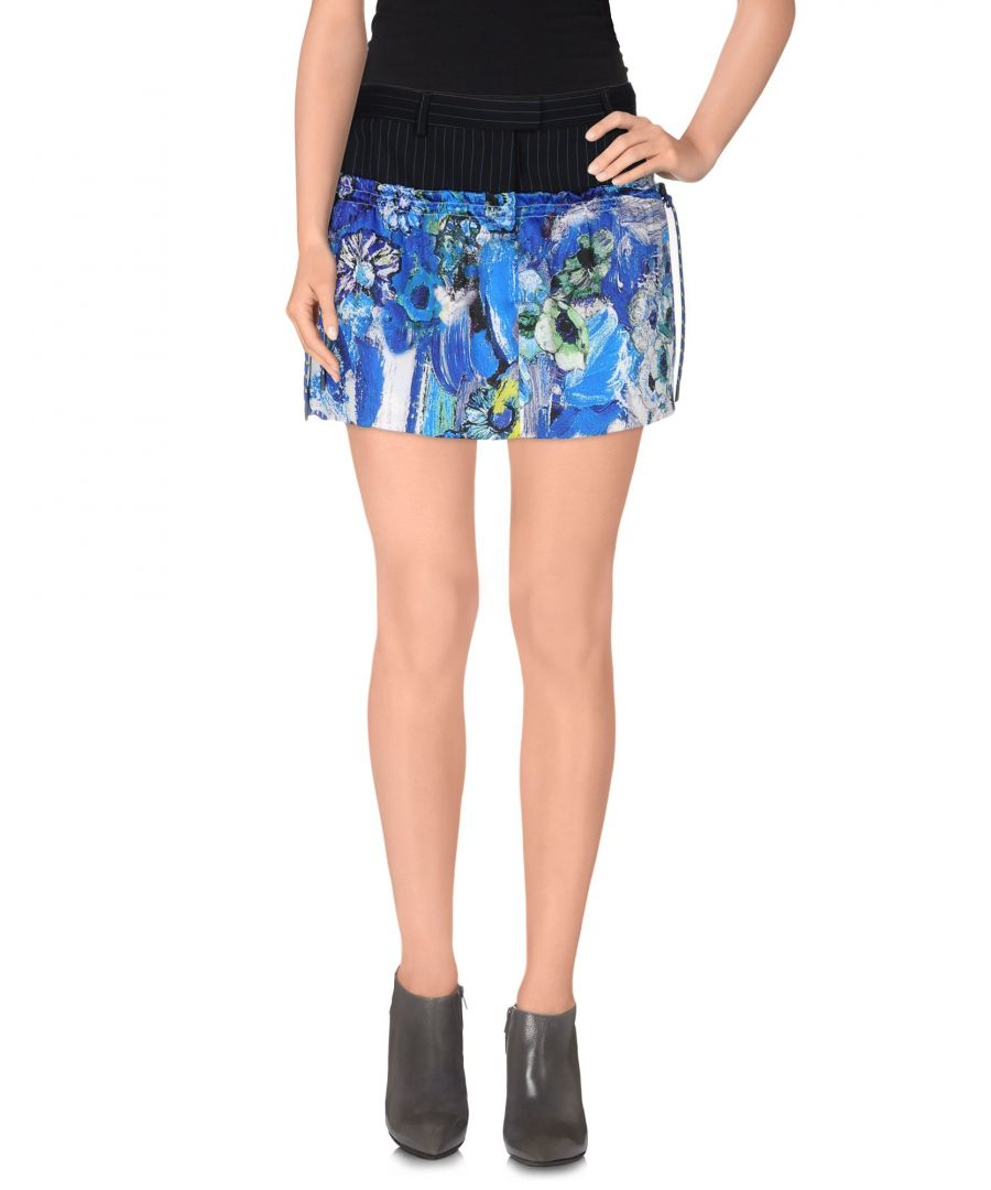 Image for Just Cavalli Bright Blue Mini Skirt