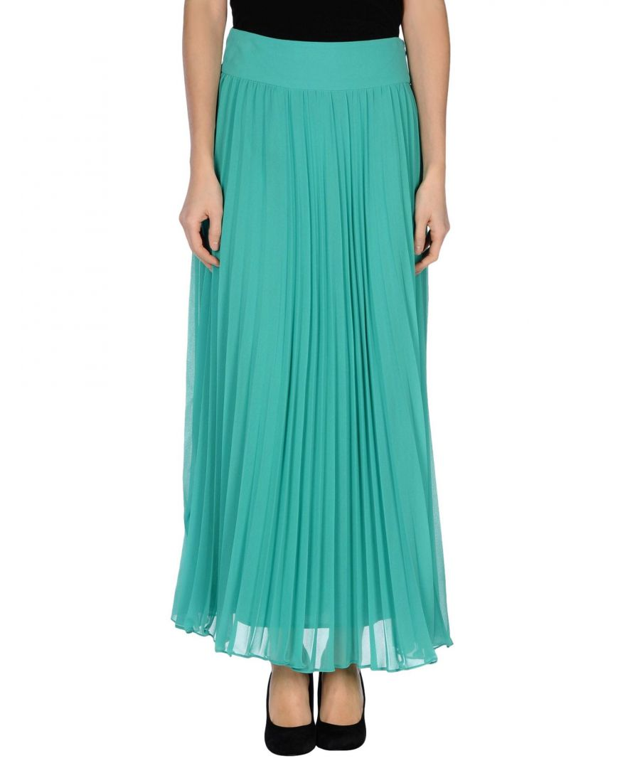 Image for Traffic People Green Crepe Pleated Skirt