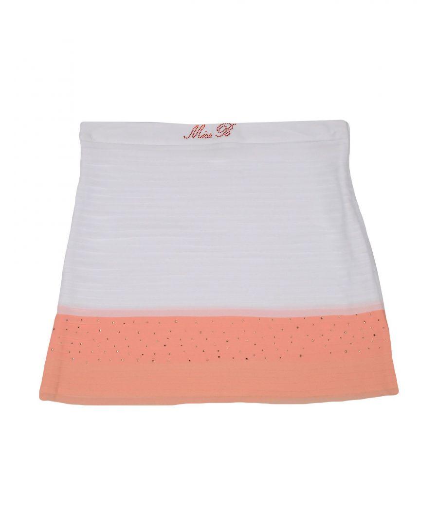Image for Miss Blumarine White Girls Skirt
