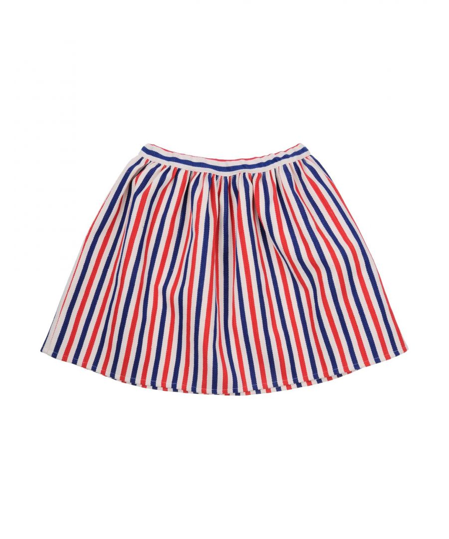 Image for Stella Jean Girls' White Cotton Skirt