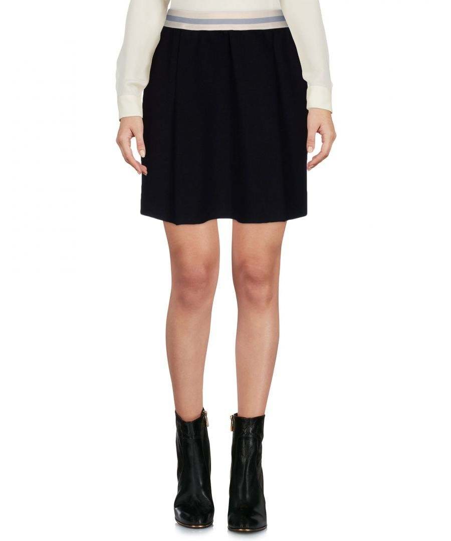 Image for Merci Black Neoprene Short Skirt