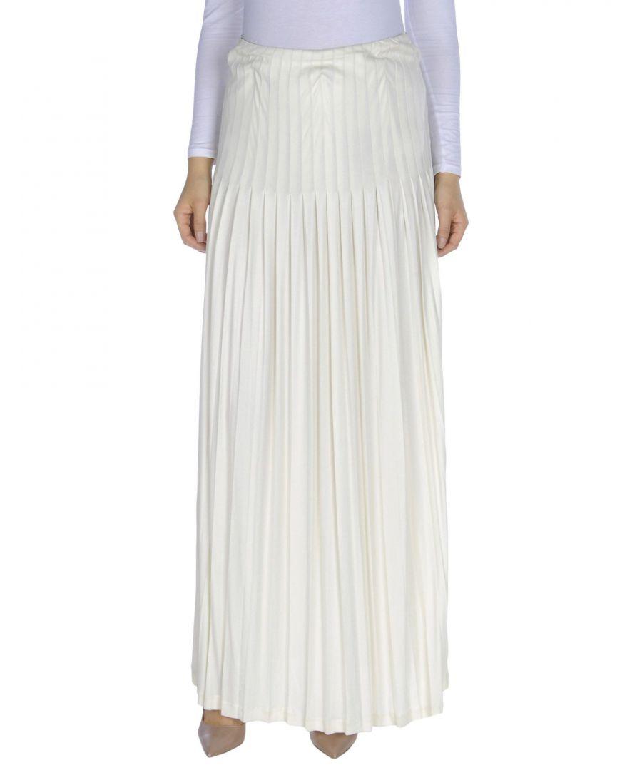 Image for Polo Ralph Lauren Ivory Full Length Skirt
