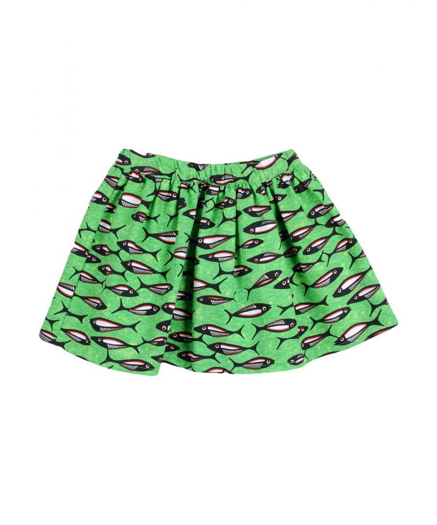 Image for Stella Jean Girls' Green Cotton Skirt