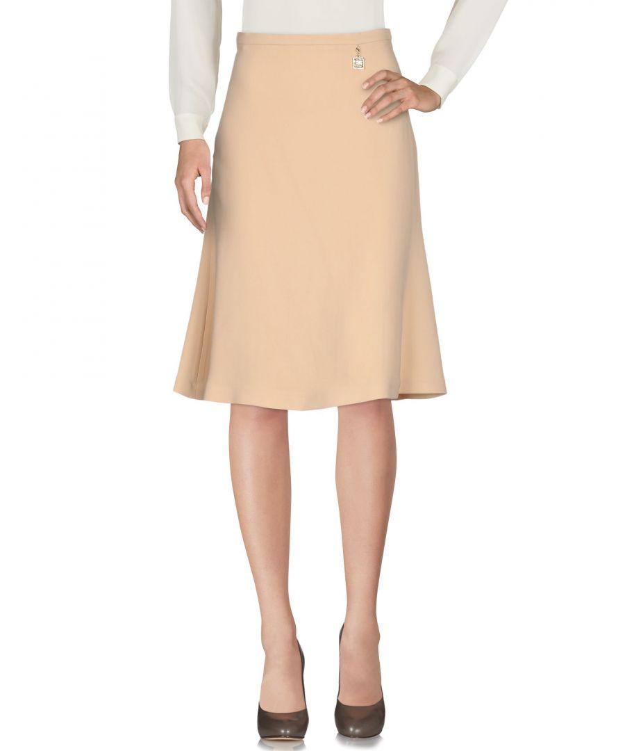 Image for Elisabetta Franchi 24 Ore Sand Crepe Skirt