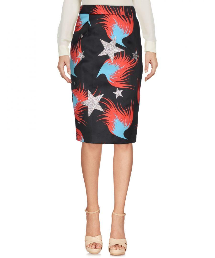 Image for Marco Bologna Black Print Skirt