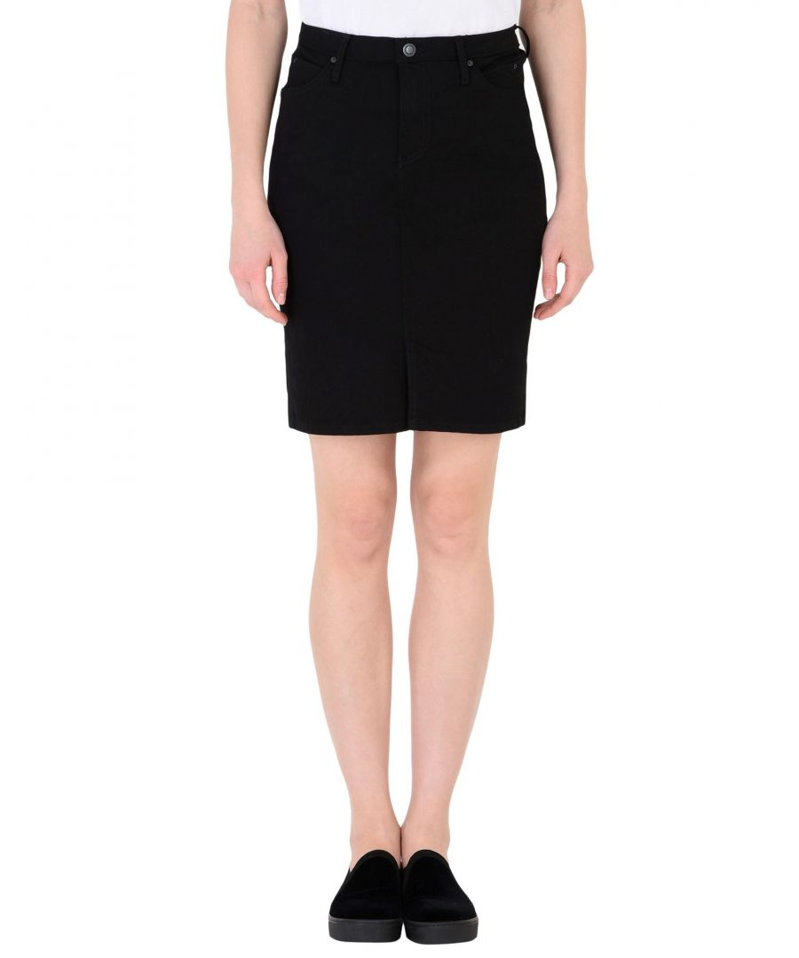 Image for Calvin Klein Jeans Black Cotton Skirt
