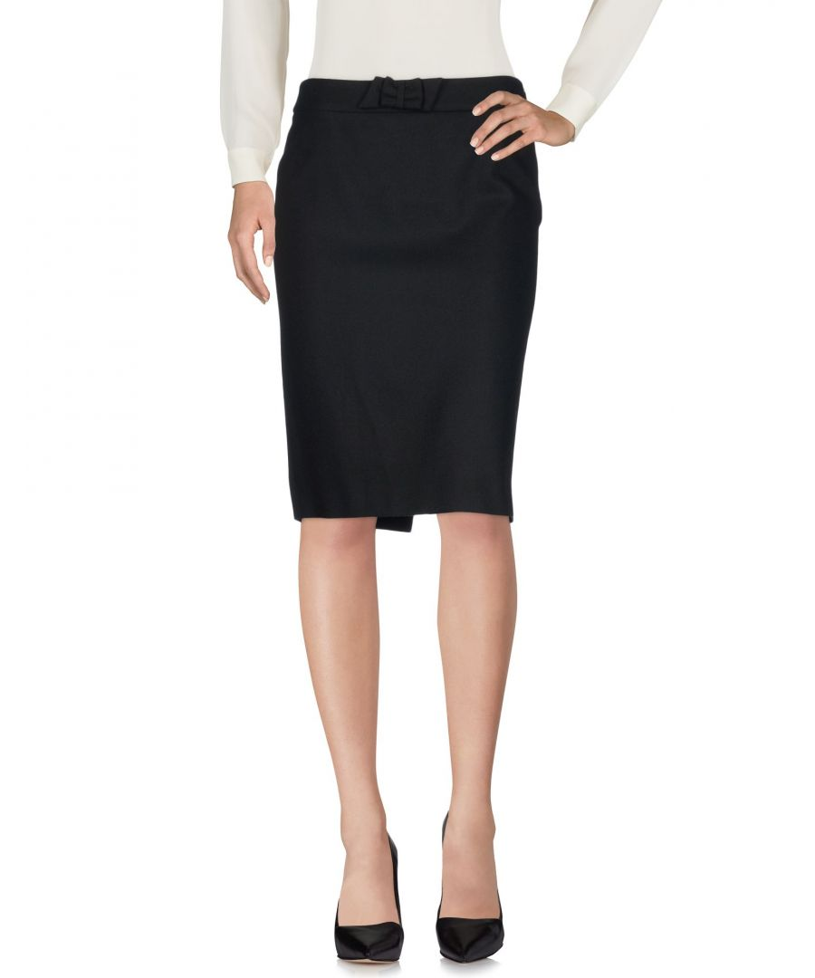 Image for Mauro Grifoni Black Virgin Wool Skirt