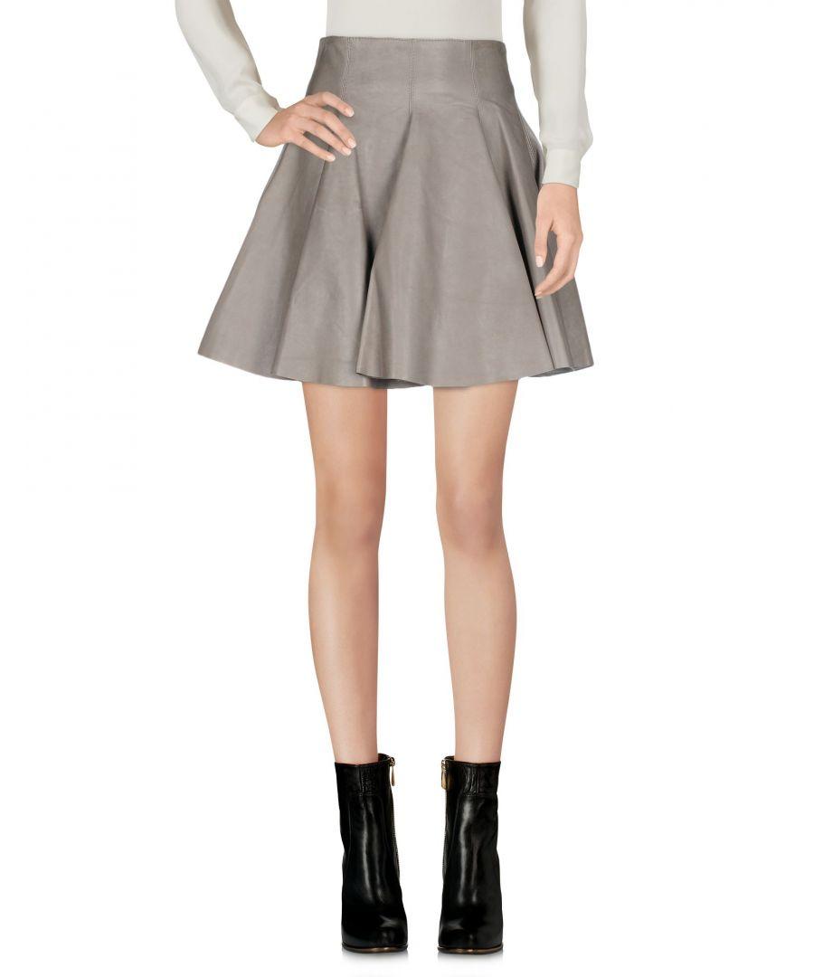 Image for Plein Sud Lead Leather Skirt
