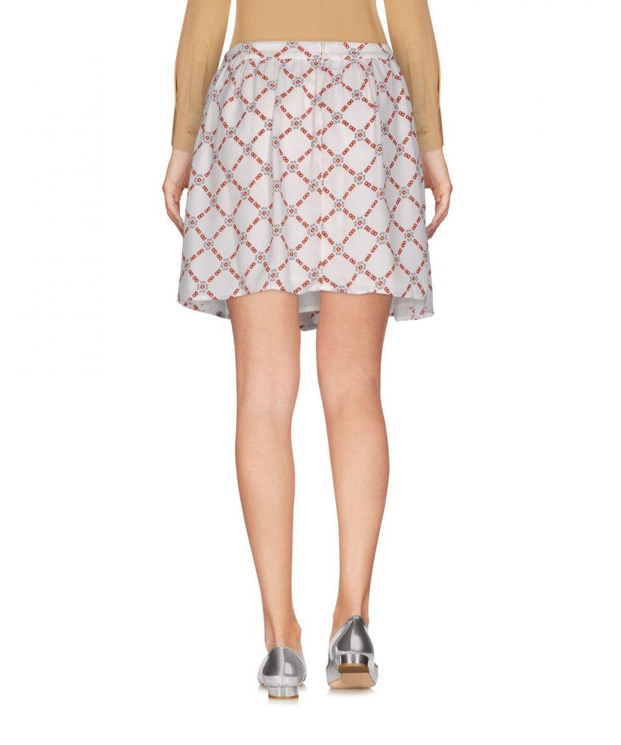 Image for Pepe Jeans Ivory Geometric Print Skirt