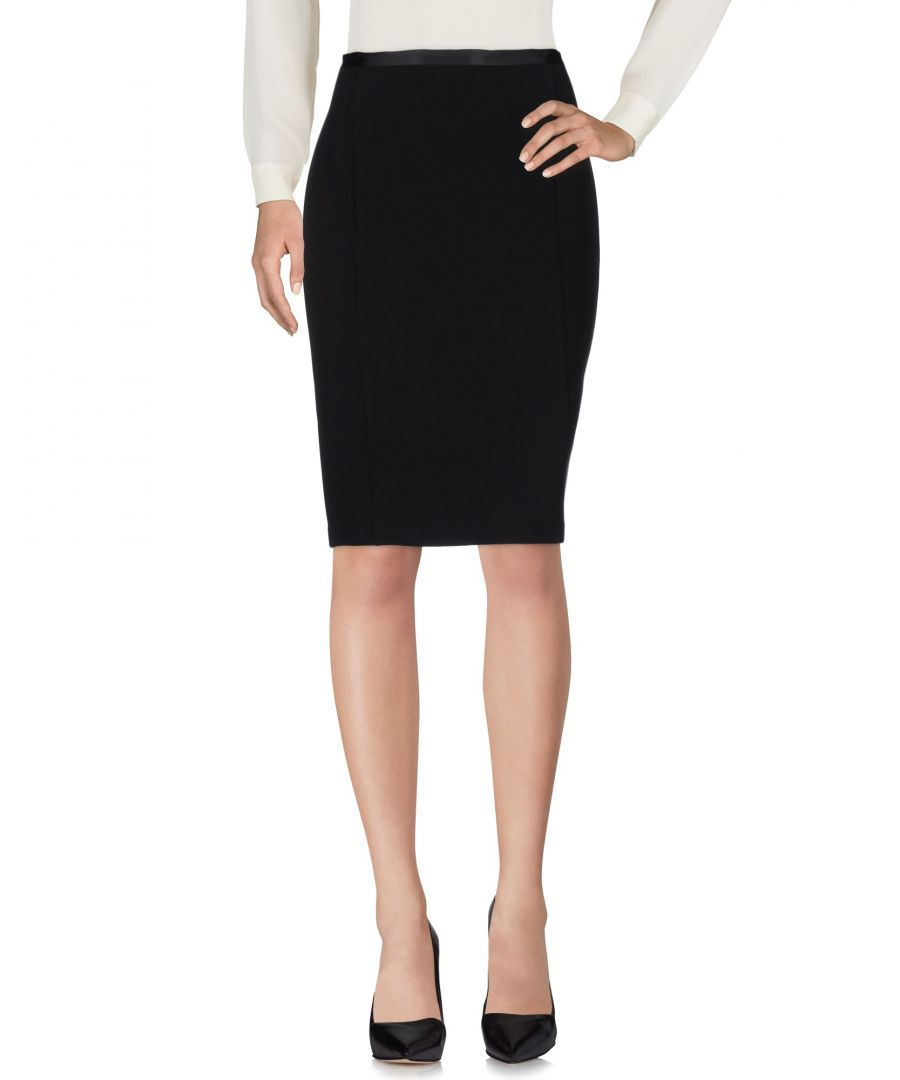 Image for Armani Jeans Black Knee Length Skirt