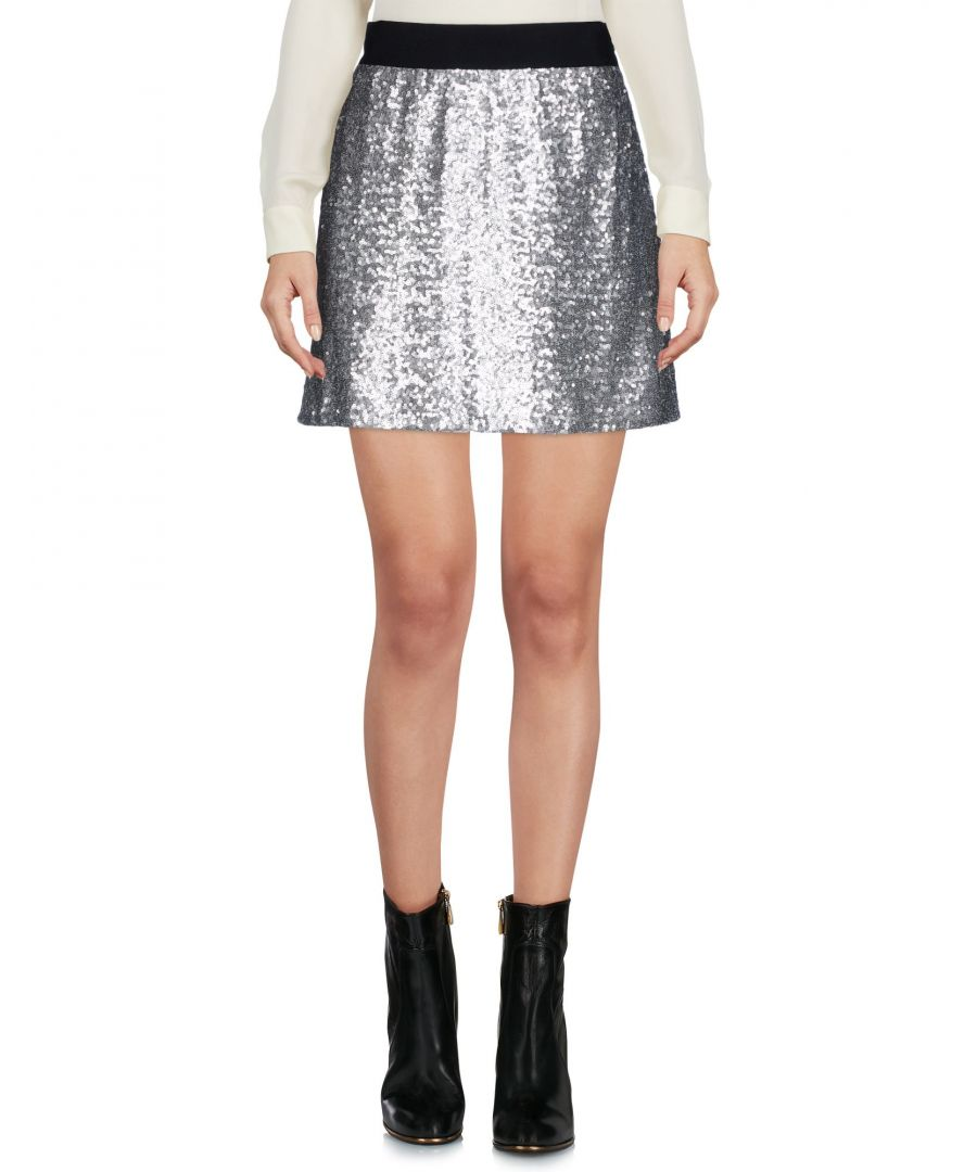 Image for Ermanno Di Ermanno Scervino Silver Sequin Skirt
