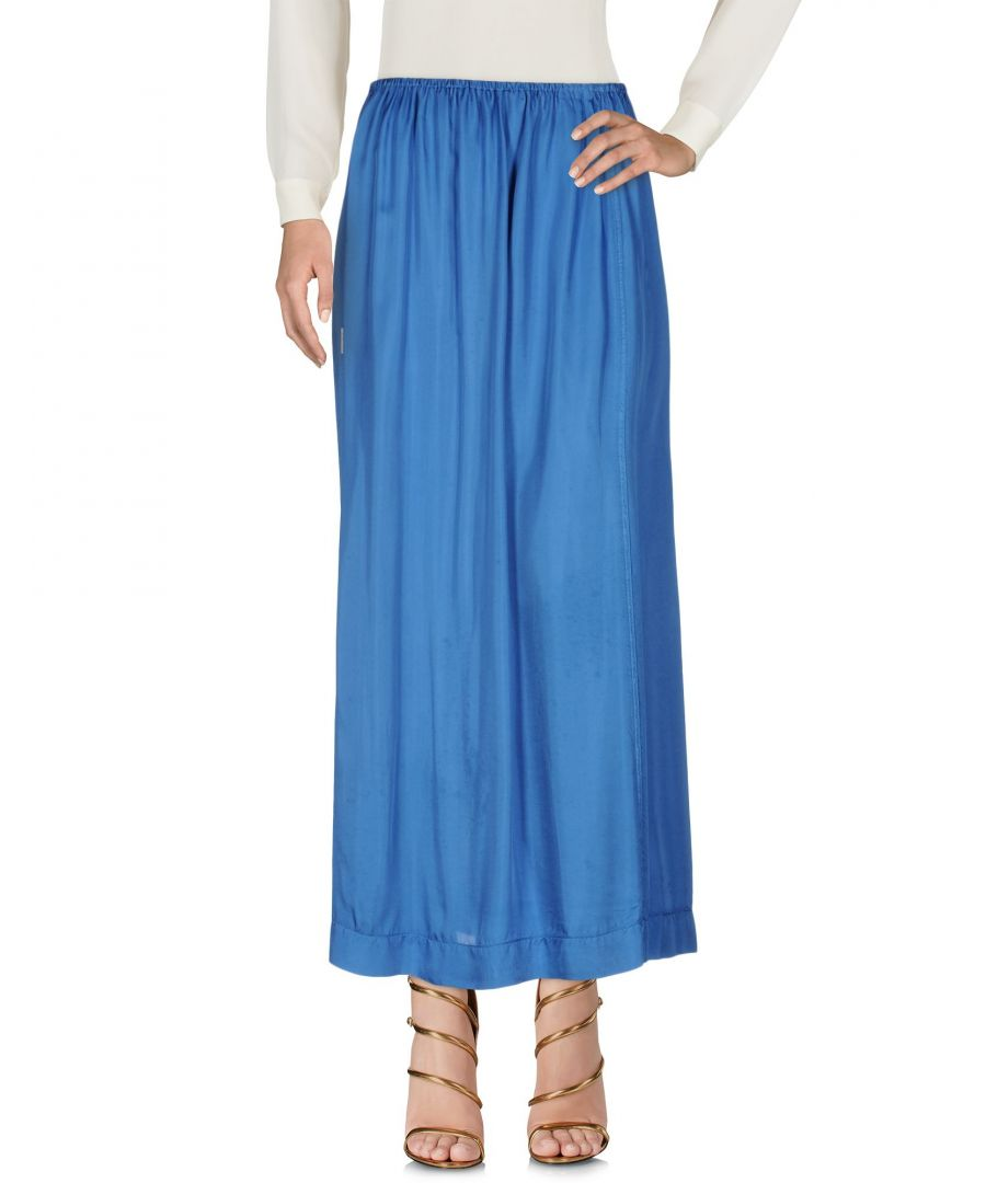 Image for Manila Grace Blue Full Length Skirt