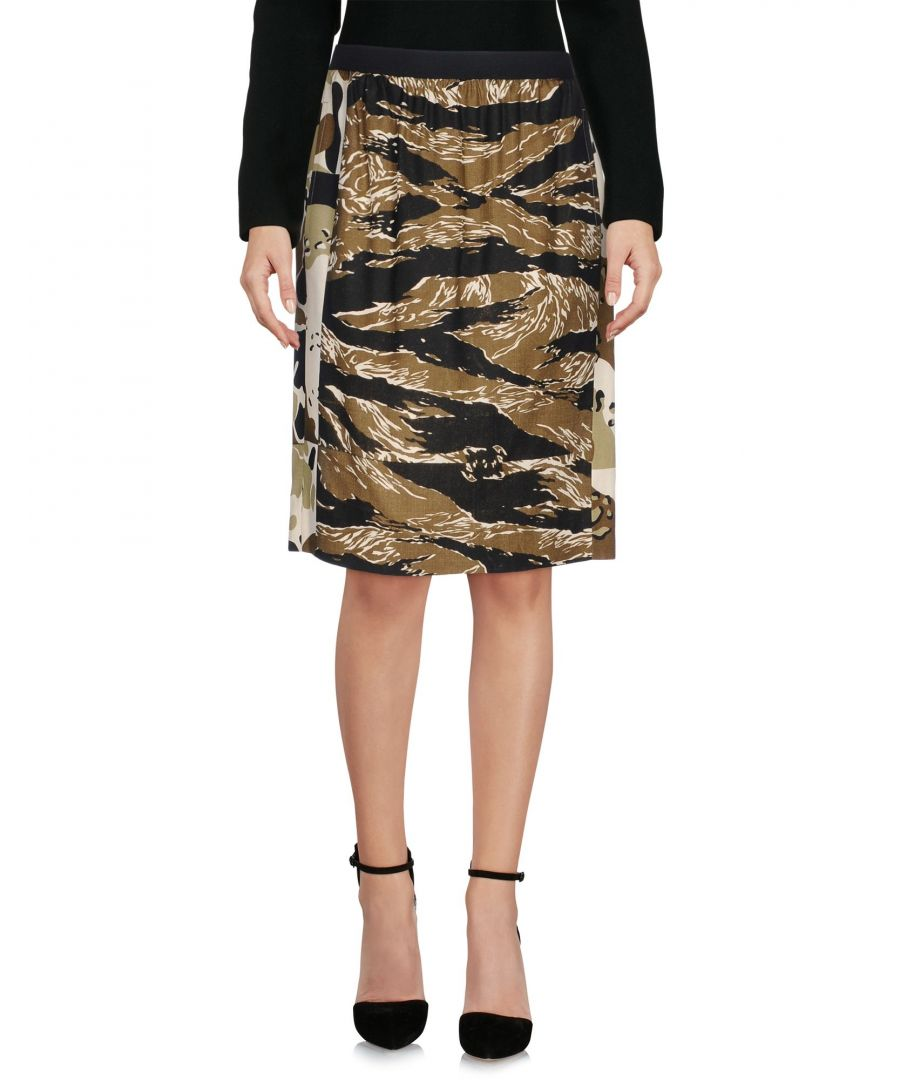 Image for SKIRTS Golden Goose Deluxe Brand Military green Woman Viscose