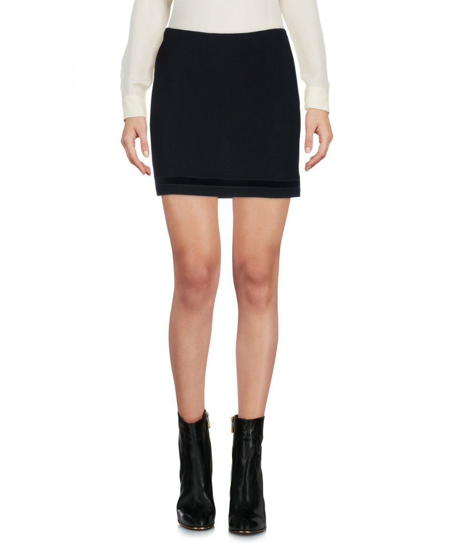 Image for Dsquared2 Black Virgin Wool Mini Skirt