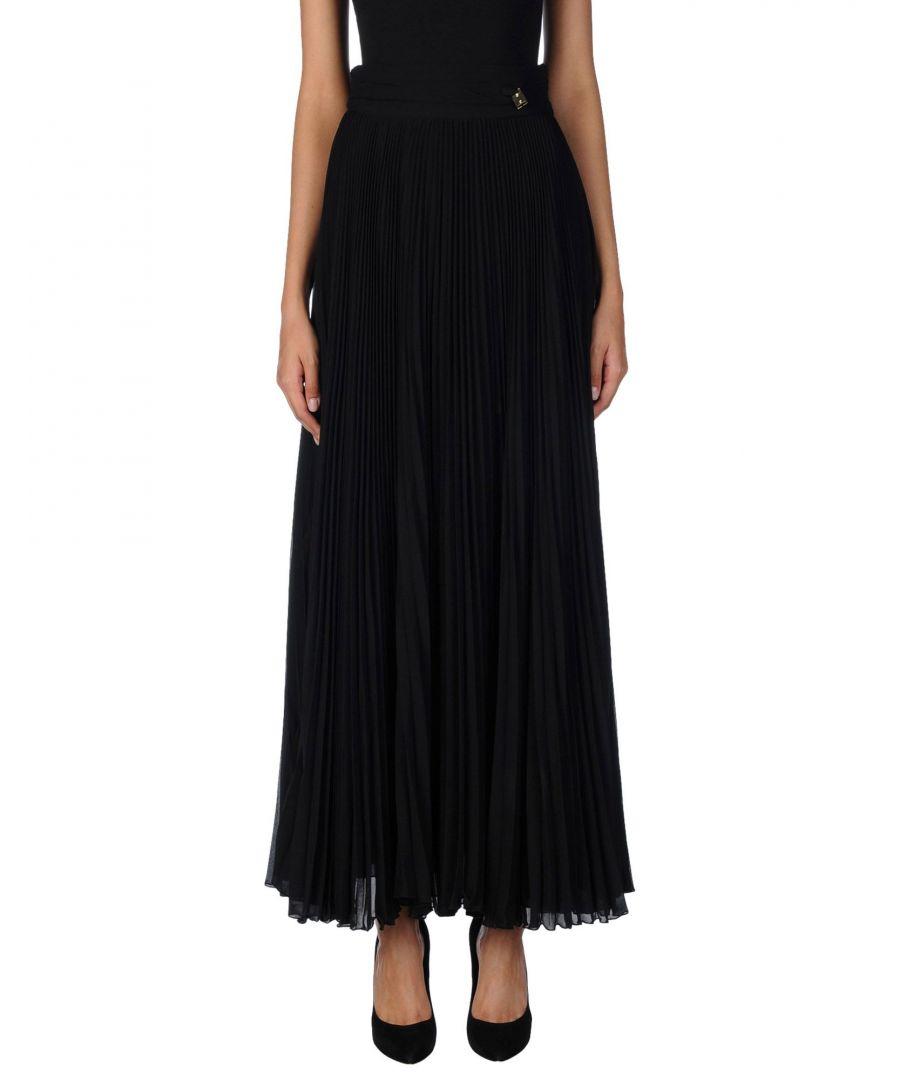 Image for Cavalli Class Black Full Length Skirt